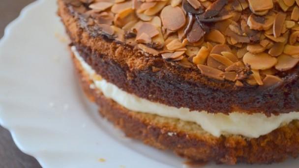 Рецепт миндального торта с фото